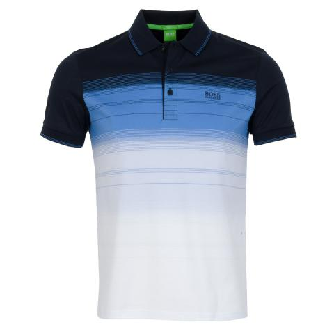 f1f3f436 BOSS ATHLEISURE Paddy 3 Polo Shirt Navy | Scottsdale Golf
