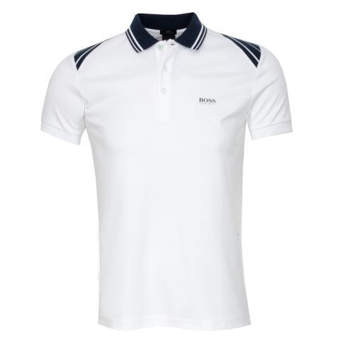 ec1fa04235 BOSS Paule 1 Polo Shirt White 100   Scottsdale Golf