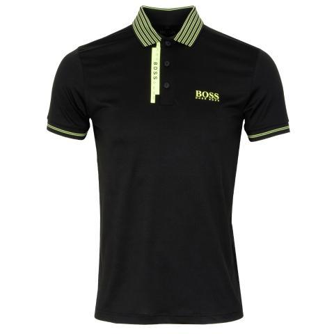 BOSS Paule Pro 2 Polo Shirt Black