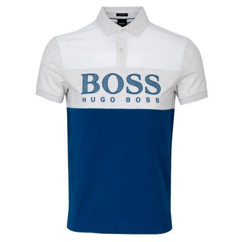 BOSS Pavel Polo Shirt Bright Blue