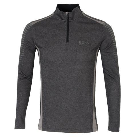 BOSS Pekerum Pro Zip Neck Polo Shirt