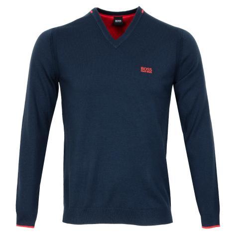 BOSS Vai Pro V-Neck Sweater