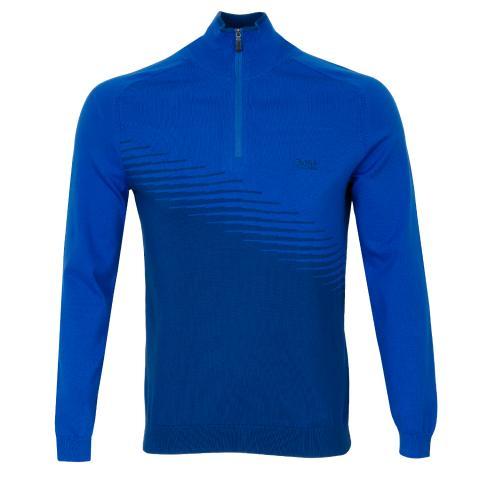 BOSS Zelchior Pro Zip Neck Sweater