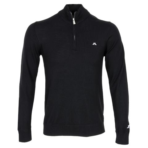 J Lindeberg Kian Tour Merino Sweater Black