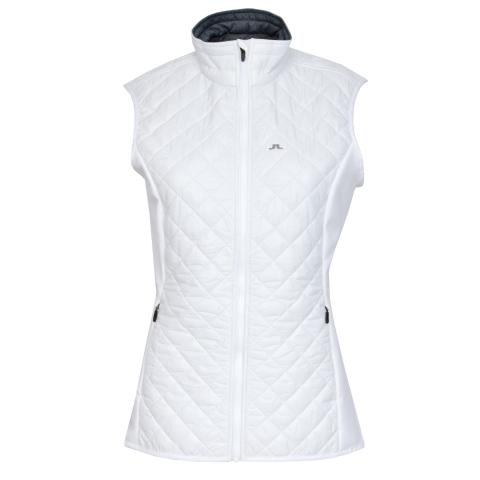 J Lindeberg Atna Hybrid Ladies Vest White
