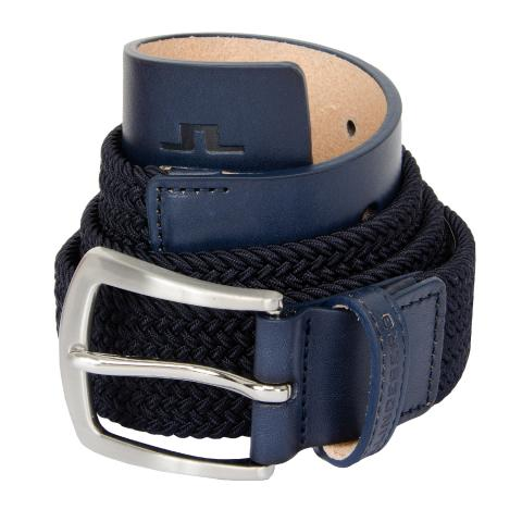 J Lindeberg Caspian Elastic Braid Belt