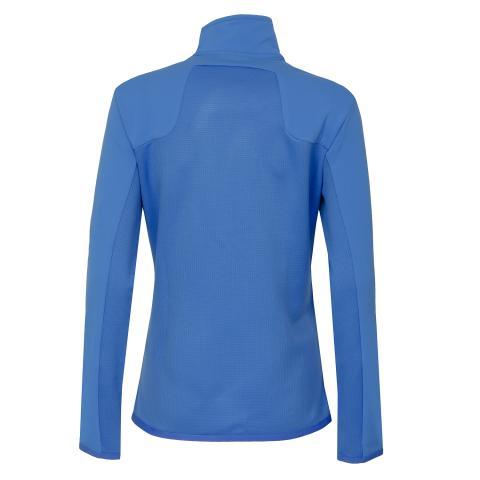 J Lindeberg Hubbard Structured Zip Ladies Sweater