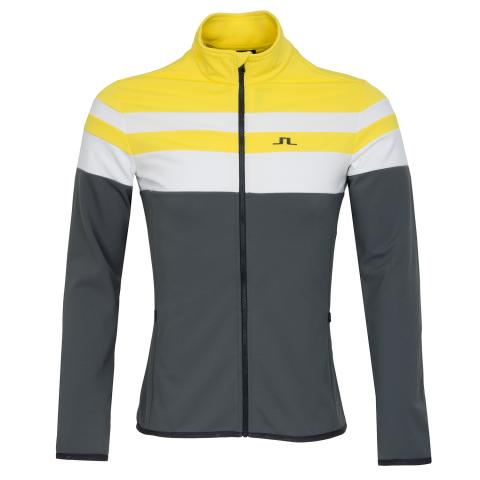 J Lindeberg Moffit Mid Brushed Jacket Banging Yellow