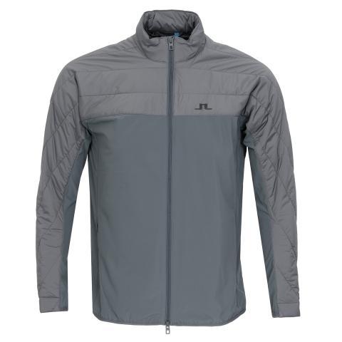 J Lindeberg Winter Hybrid Lux Softshell Jacket Dark Grey