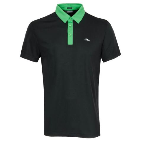 J Lindeberg Adrien Polo Shirt Black