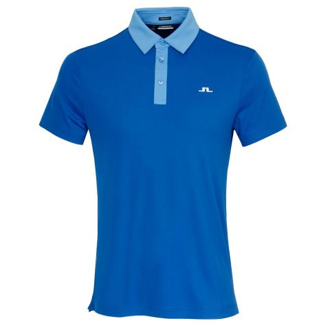 J Lindeberg Adrien Polo Shirt Egyptian Blue