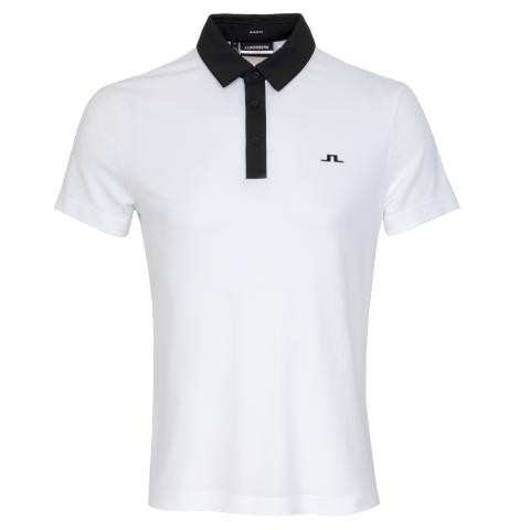 J Lindeberg Adrien Polo Shirt White