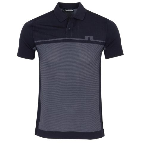 J Lindeberg Alfred Seamless Polo Shirt JL Navy
