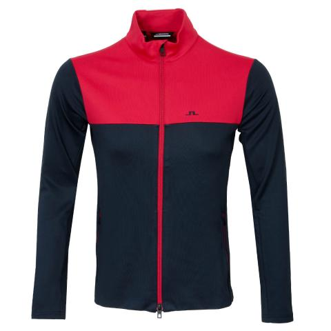 J Lindeberg Banks Sweater Red Bell