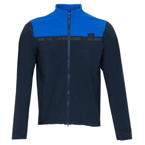 J Lindeberg Blocked Logo Softshell Jacket JL Navy