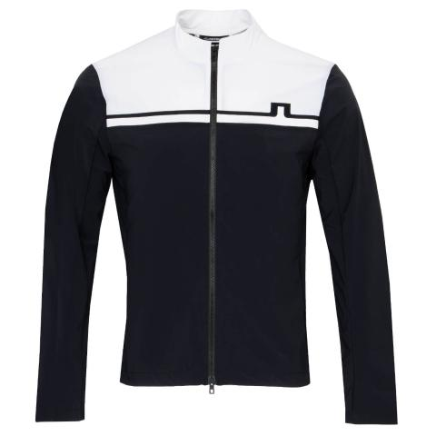 J Lindeberg Blocked Logo Softshell Jacket Black