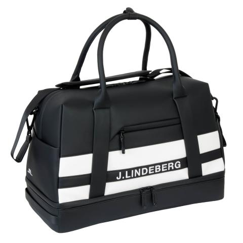 J Lindeberg Boston Synthetic Leather Bag Black AW20