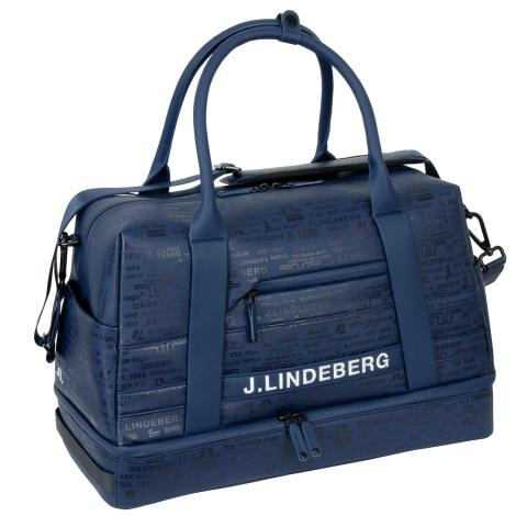 J Lindeberg Boston Synthetic Leather Bag JL Navy AW20