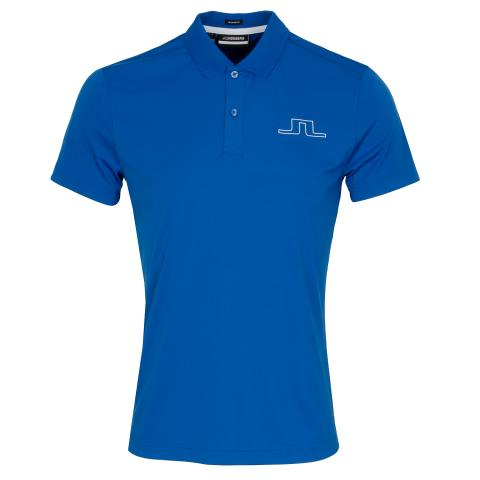 J Lindeberg Bridge Polo Shirt Egyptian Blue