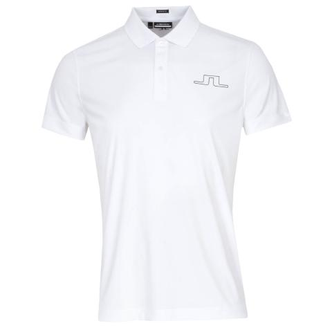 J Lindeberg Bridge Polo Shirt White