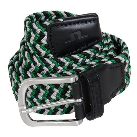 J Lindeberg Bubba Braided Belt Stan Green AW20