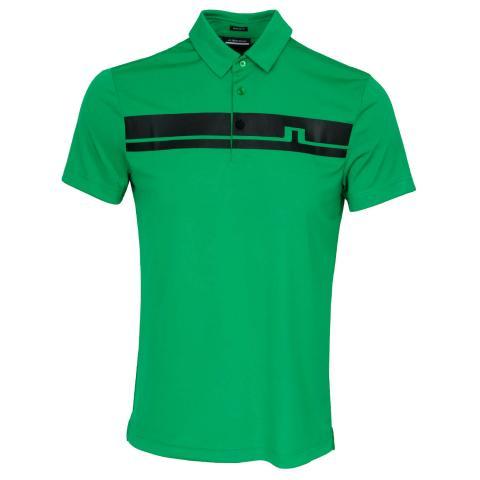 J Lindeberg Clark Polo Shirt Stan Green