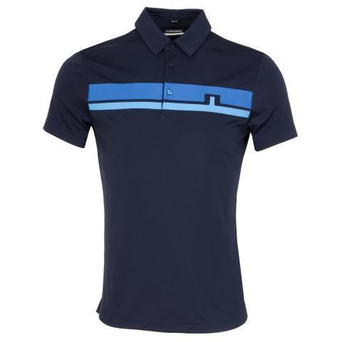 J Lindeberg Clark Polo Shirt JL Navy