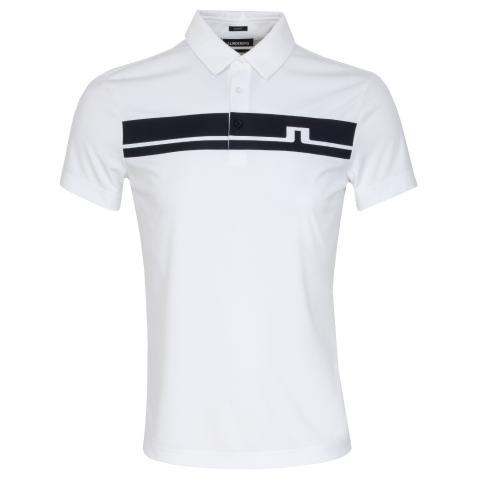 J Lindeberg Clark Polo Shirt White