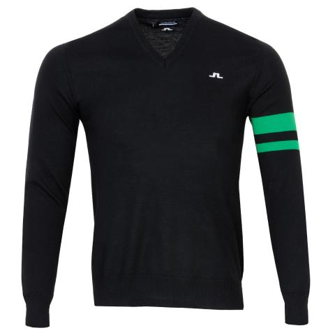 J Lindeberg Eden Sweater Black/Green