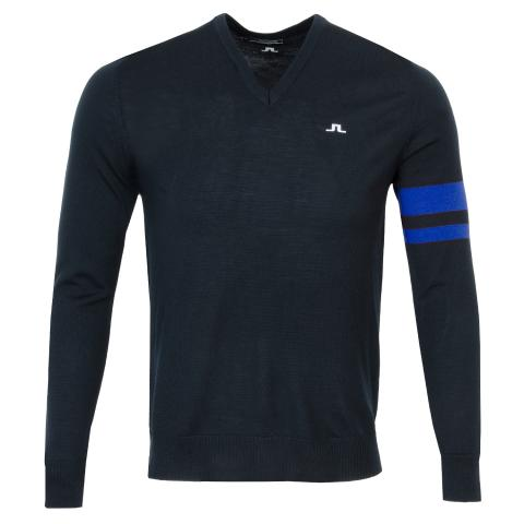 J Lindeberg Eden Sweater Egyptian Blue