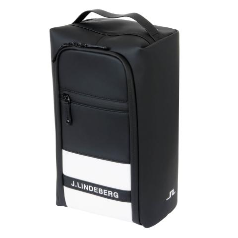 J Lindeberg Golf Shoe Bag Black AW20