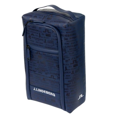 J Lindeberg Golf Shoe Bag JL Navy AW20