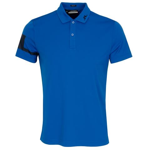 J Lindeberg Heath Polo Shirt Egyptian Blue