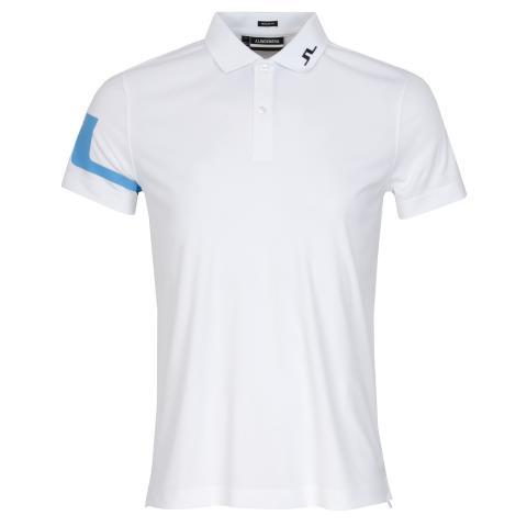 J Lindeberg Heath Polo Shirt Ocean Blue