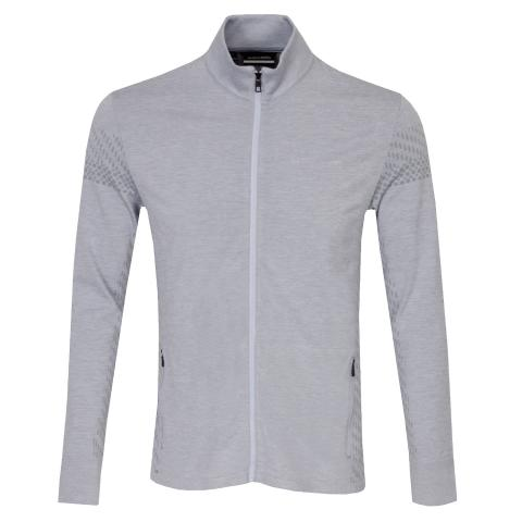 J Lindeberg Jim Seamless Sweater Stone Grey Melange