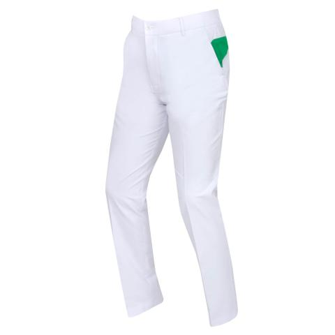 J Lindeberg Johan Light Stretch Trousers White