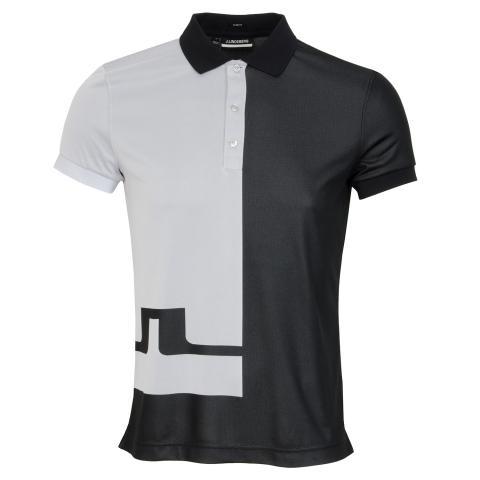 J Lindeberg Joseph Polo Shirt Black