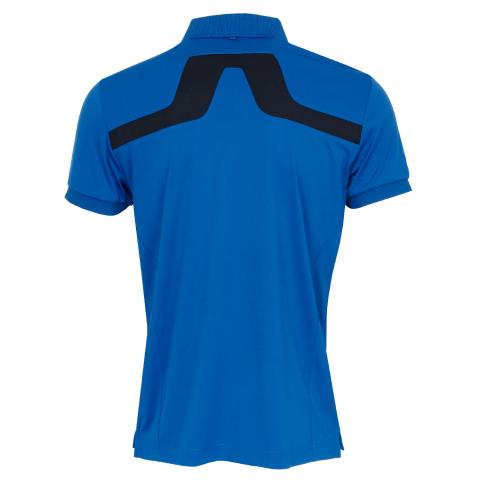 J Lindeberg KV Polo Shirt Egyptian Blue