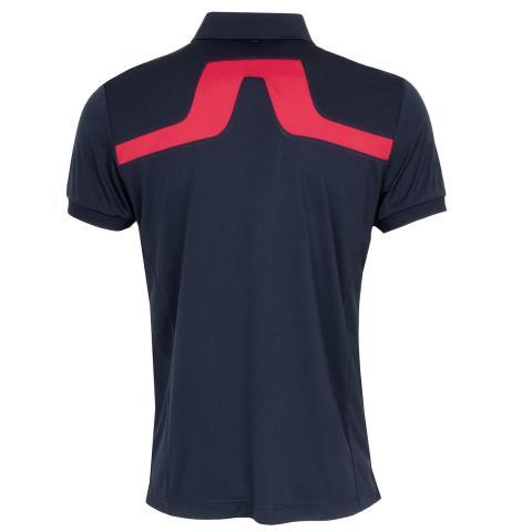 J Lindeberg KV Polo Shirt JL Navy