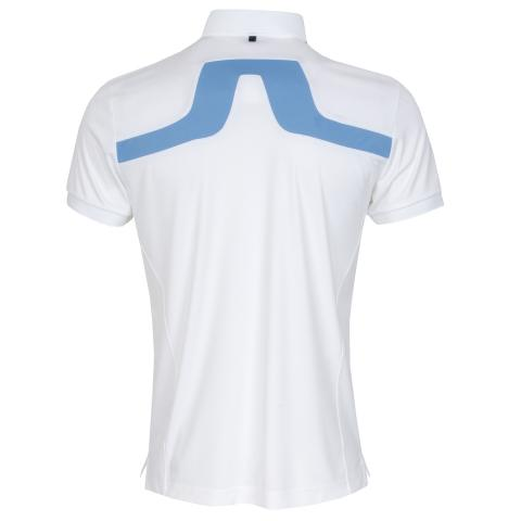 J Lindeberg KV Polo Shirt White