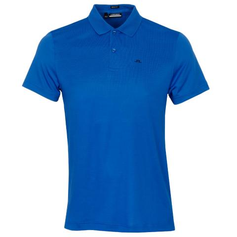 J Lindeberg Lars Polo Shirt Egyptian Blue