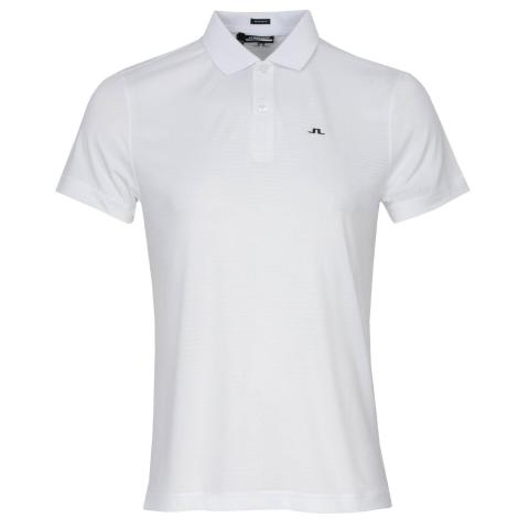 J Lindeberg Lars Polo Shirt White