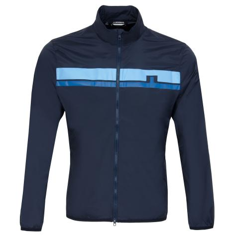 J Lindeberg Lee Light Stretch Wind Pro Windproof Jacket JL Navy AW20