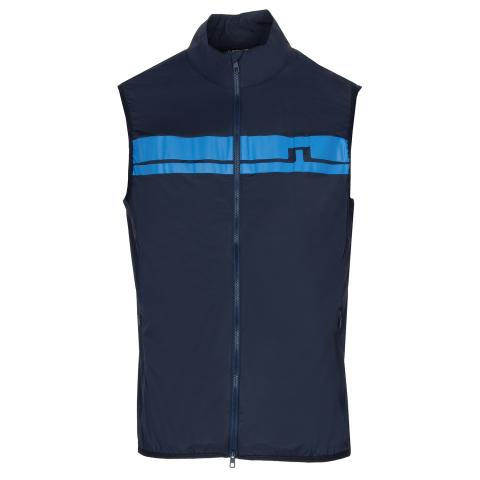 J Lindeberg Lou Light Stretch Wind Pro Windproof Vest JL Navy AW20