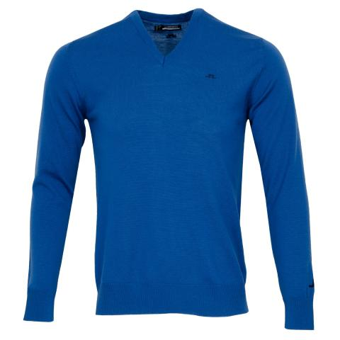 J Lindeberg Lymann Sweater Egyptian Blue
