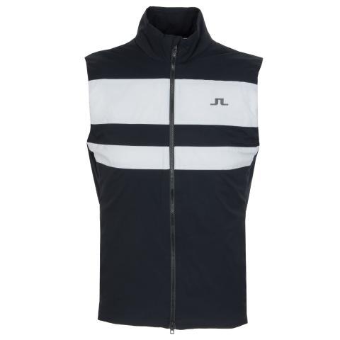 J Lindeberg Packlight Padded Vest Black