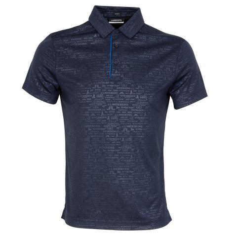 J Lindeberg Pine Polo Shirt JL Navy