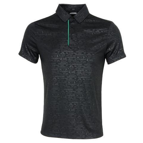 J Lindeberg Pine Polo Shirt Black