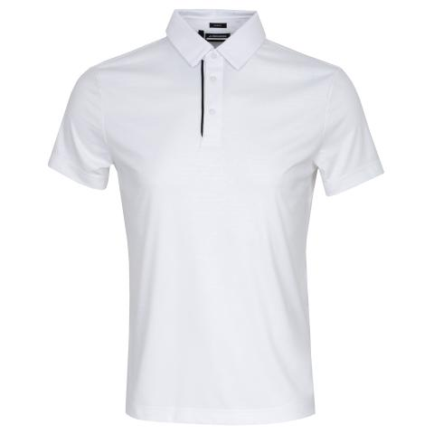 J Lindeberg Pine Polo Shirt White