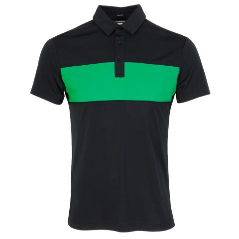 J Lindeberg Raphael Polo Shirt Black